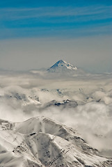 (shahin ghaffari) Tags: sky cloud mountain iran damavand sony  a300