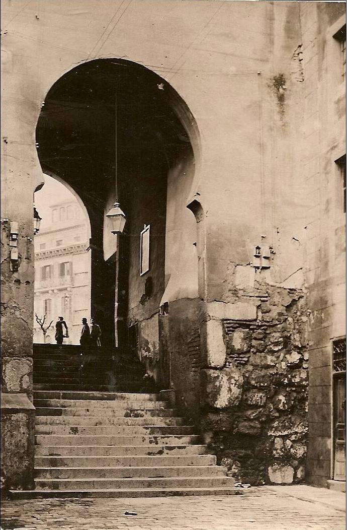 Arco de la Sangre hacia 1900