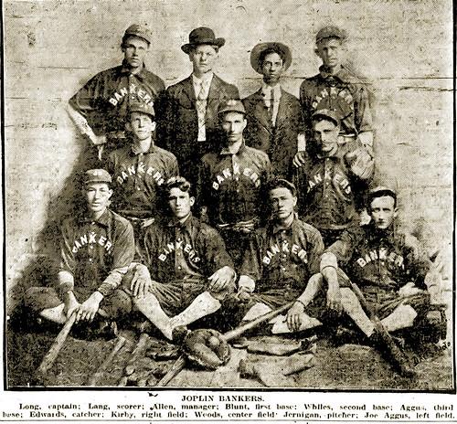 1907 Joplin Bankers baseball team