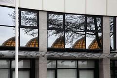 Mandelabrug_03 (leerjp) Tags: bridge holland netherlands yellow architecture nederland brug reflexions geel mandela architectuur