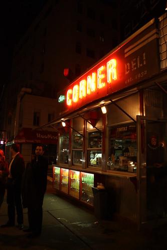 The diner atop La Esquina.