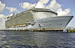 Allure of the Seas - Royal Caribbean (DiGitALGoLD) Tags: cruise sea mexico boat cruiseship cozumel royalcaribbean seas allure canon1100is wpdc22 allureoftheseas canonwpdc22