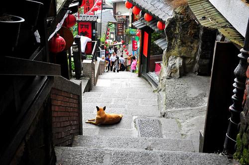 Jiufen town: 九份-悲情城市拍摄地