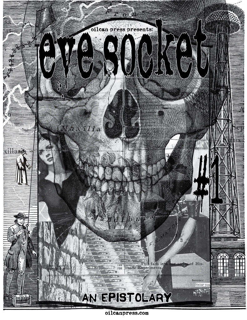 eye socket #1 an epistolary zine