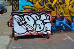 Gose nmg productions tags streetart graffiti oakland gose goser