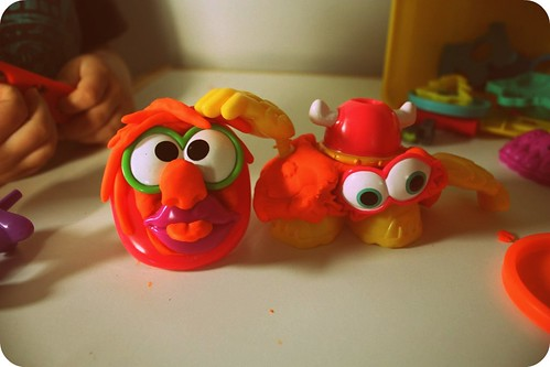 play-doh monsters