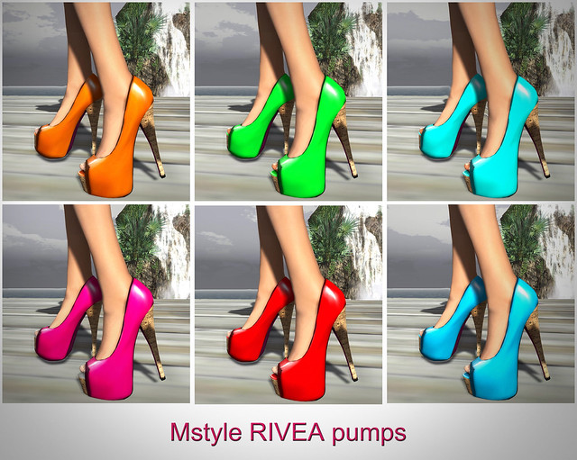 Mstyle RIVEA Pumps