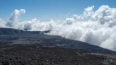 Clouds rolling up the Piton de la Fournaise (GötzD) Tags: réunion france piton de la fournaise vulcano vulkan clouds trekking trek hiking hike
