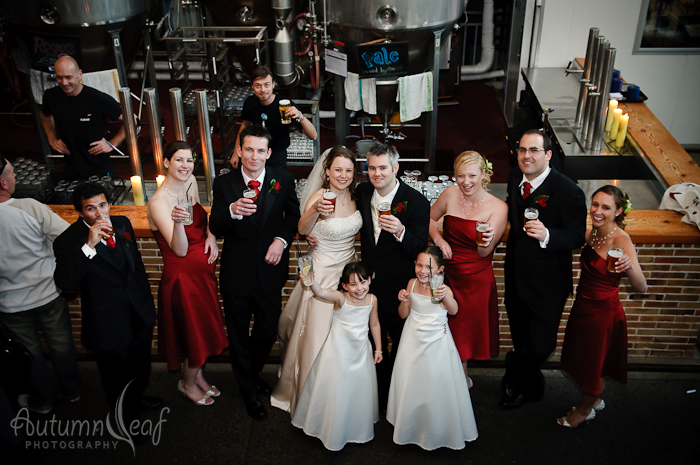Courtney & Glen - A toast to camera