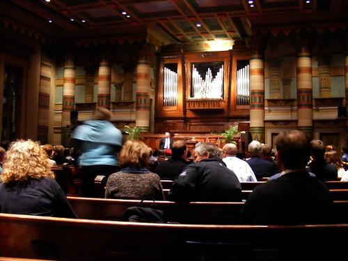 Interior of Downtown Presbyterian Church. acnatta/Flickr