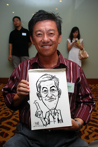 Caricature live sketching for Rheen Manufacturing Company (Singapore) Pte Ltd  - 6