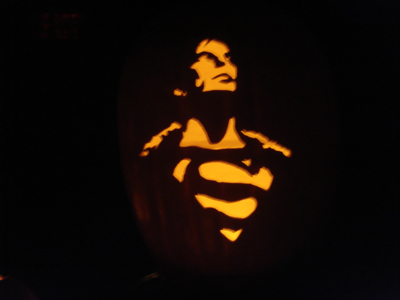 calabaza superman