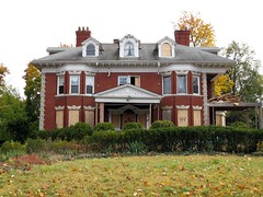 144 East Boston Blvd (southofbloor) Tags: house brick abandoned boston architecture district detroit palace historic classical mansion derelict edison