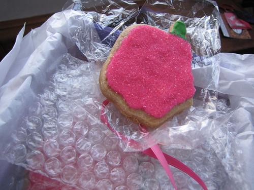 fancy lady cookies bite