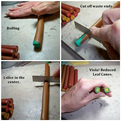 How to reduce a polymer clay cane. 6 of 6 (clayangel_sc) Tags: art beauty fashion necklace beads artist handmade originalart ooak polymerclay fimo clay gift canes sculpey handcrafted wearableart accessories bracelets earrings etsy acessories brooches necklaces polymer artjewelry hypoallergenic adornments artisanjewelry canework handmadebeads artbeads handcraftedbeads pcagoe notpainted polymerclayjewelry polymerclaycanes oneofakindjewelry fauxjewelry southcarolinaartist jewelryartisan boldjewelry clayangel oneofakindpiece clayangelsc nopaintisinvolved athousandflowers
