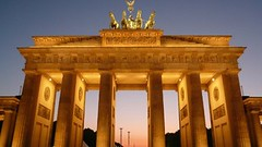 20 years today on Brandenburg Gate (Sir Francis Canker Photography ) Tags: trip travel sunset panorama cold west berlin history tourism skyline germany deutschland puerta gate war europa europe euro guerra landmark visit icon tourist east celebration charlie rda reagan porta alemania years gonzalez 20 tor visiting mur guerre allemagne potsdam brandenburg gdr icono germania thatcher mauer unification kohl checkpoint jahre fria gorbachev gorby reunification   froide mauerfall mitterand fredda branderburger  gorbachov    wallmuro sirfranciscankerjones    |  pacocabezalopez