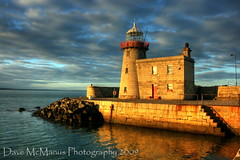Howth Lighthouse (Dave J McManus) Tags: ireland howth dublin lighthouse coast pier harbour hdr fingal