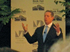 Al Gore at Miami Book Fair