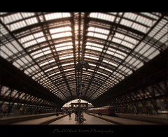 Cologne Central Train Station (oliver's | photography) Tags: station photoshop canon germany eos focus flickr raw view image  perspective cologne adobe copyrighted pixelwork canoneos50d photoscape adobephotoshoplightroom sigma1770mmf2845dchsm unusualviewsperspectives pixelwork2009photography oliverhoell theotherperspective colognecentraltrainstation allphotoscopyrighted
