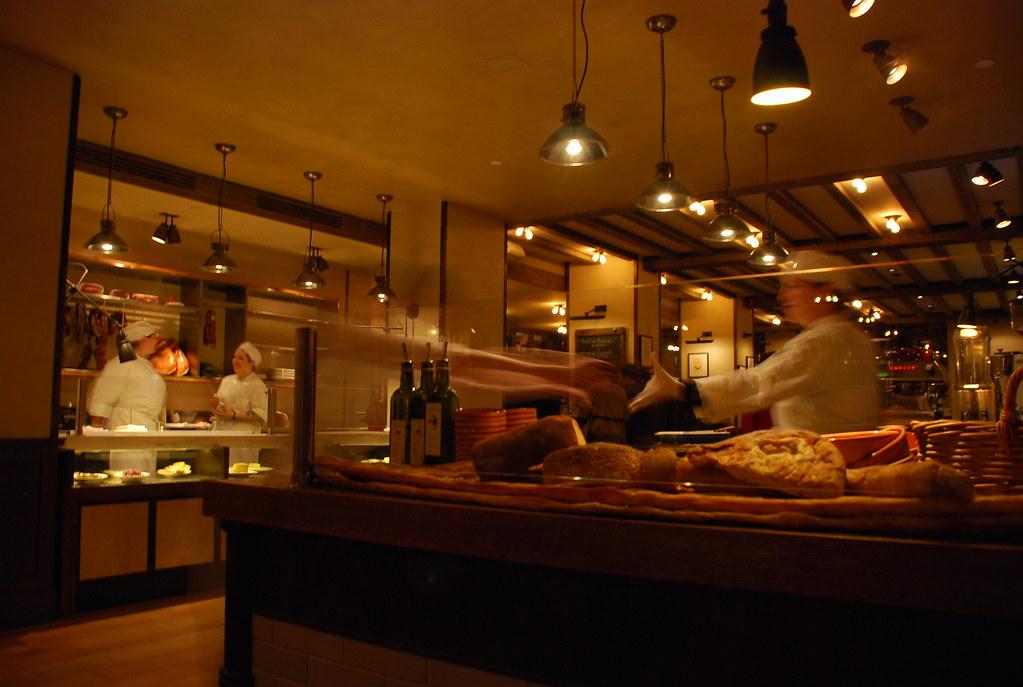 cheese/meats/bread/dessert bars @ maialino...