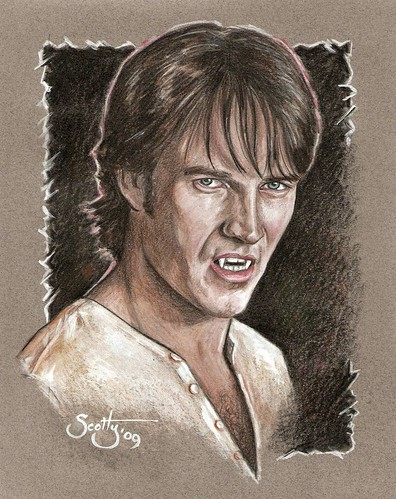 true blood bill fangs. True Blood Bill Compton by