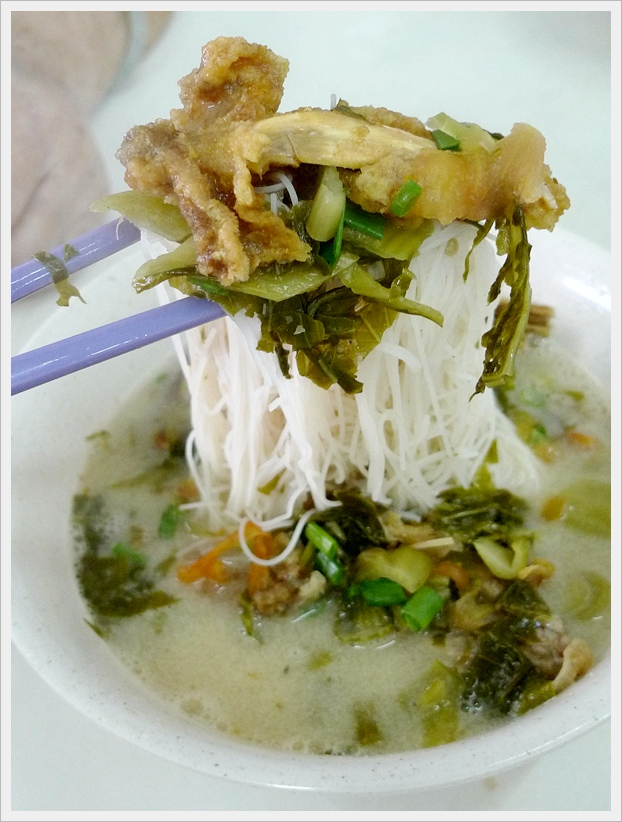 Evaporated Milk Fish Head Beehoon