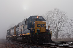 CSX6398 Out of the Fog