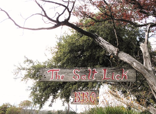 The Salt Lick Texas BBQ