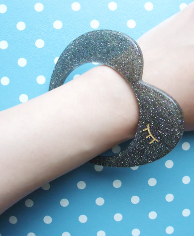 Tsumori Chisato Heart Bangle