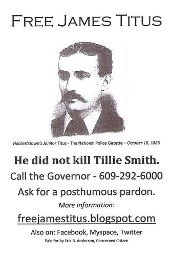 Free James Titus Postcard