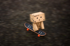 zing! (Debbie Hickey) Tags: board skating wheels ground skate fingerboard danbo amazoncojp revoltech danboard