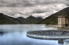 Silent Valley (All that remains) Tags: longexposure ireland lake mountains water landscape down reservoir hdr silentvalley