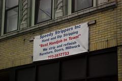 Best Handjob In Town! (EMENFUCKOS) Tags: wood chicago banner business sexual hahahaha speedy handjob reference strippers finishing