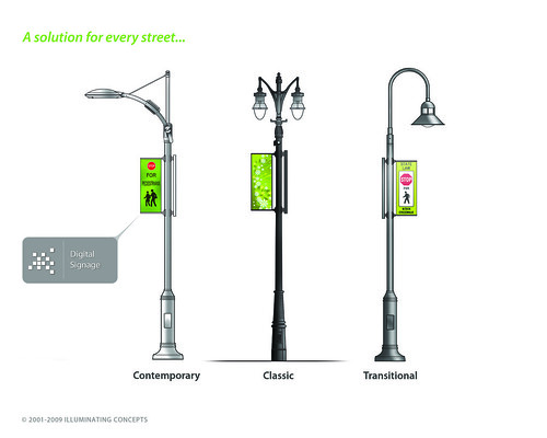 Intellistreets Poles