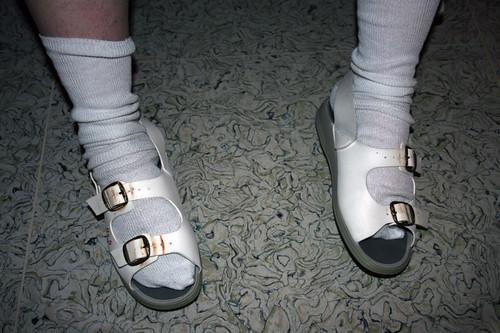 Hospital sandals