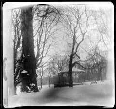The bandstand, Cannon Hill Park (richard314159) Tags: park camera lens us birmingham force with kodak air wwii bandstand agfa rodinal expired f28 largeformat aero 5x5 ektar cannonhill reconnaissance photographicpaper aeroektar 178mm autaut