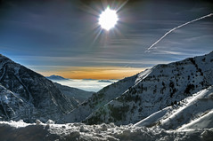 The Sea (Scott Barlow) Tags: winter light sun mountain snow ski forest nikon uinta ray skiing natural bright quality air nation rocky canyon resort trail national timpanogos sundance worst inversion tamron cascade hdr provo orem d300 utahvalley photomatix 7xp af1750mmf28spxrdiiivc 2010challenge06