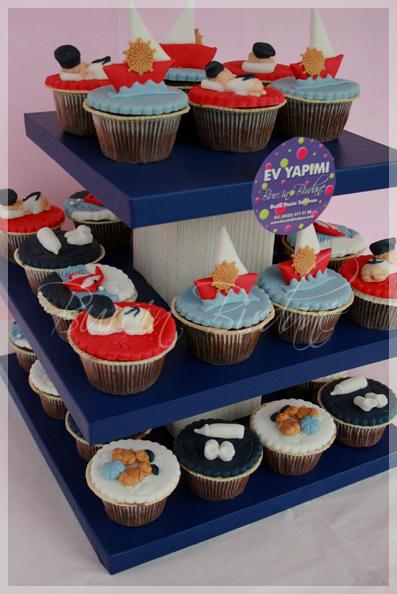 Kaptan Memo Cupcake 1