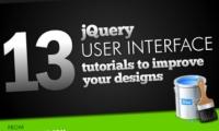 13 tutoriales de jquery para mejorar UI