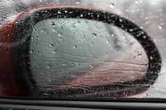17/365-2010 (Kerrie Lynn Photography (Sugaree_GD)) Tags: window car rain mirror driving side trails rainy raining miserable 2010 project365 365days 17365 twitter365 sugareegd
