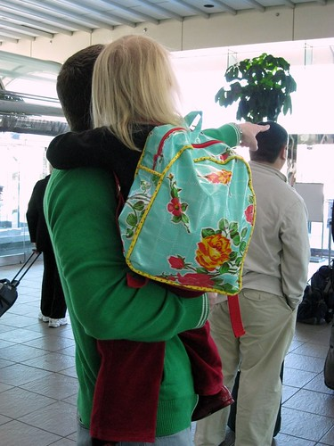Toddler Backpack @ airport