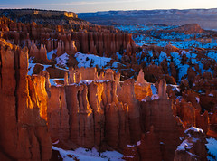 Bryce Canyon, Utah, USA (Xindaan) Tags: morning schnee winter light orange usa naturaleza snow plant tree planta nature rock sunrise plante landscape geotagged licht utah us ut flora nikon sandstone bravo scenery unitedstates natur pflanze natura canyon rbol hoodoo bryce oriente nikkor brycecanyon albero landschaft stein sonnenaufgang f11 arbre morgen sandstein baum gitzo manana 2010 matin levant pianta mattina mattino reallyrightstuff d300 rrs 32mm 1685 amanacer abigfave bh40 platinumphoto infinestyle flickrdiamond theunforgettablepictures 1685mm nikkorafs1685mmf3556gvr afs1685mmf3556gvr levata afs1685mm magicunicornverybest magicunicornmasterpiece gs3241ls dateposted1264471120