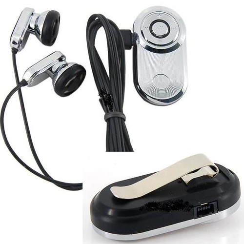 (Silver) Stereo Bluetooth Headset