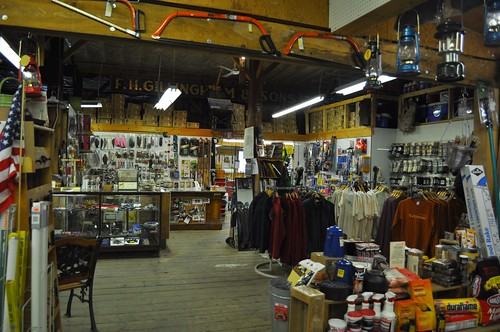 Fishing, Tackle, Hardware Section of Gillinghams