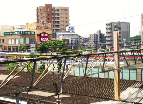 Down Town Asaka from Train Station, 2009