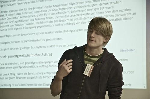 maxwell beim Liquid-Democracy-Vortrag