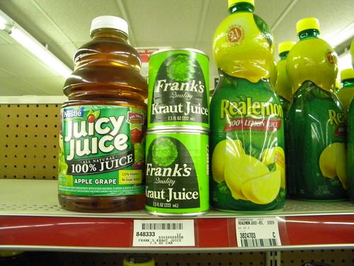 Kraut Juice?!?