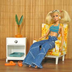 Beach Bungalow (smidge girl) Tags: beach barbie fashiondoll diorama sixthscalefurniture