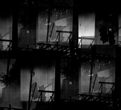 La Nause (D.Munoz-Santos) Tags: city shadow urban blackandwhite bw abstract texture philadelphia monochrome loss architecture dark grit construction experimental artistic god decay destruction empty grunge existentialism citylife surreal sartre monochromatic dirty gone illusion brooding philly grainy conceptual filthy desolate fatigue abandonment emptiness forlorn separation reverie nausea dystopia dissociation unreality disconnect unfulfilled monochromia artinbw unlivedlife dmunozsantos