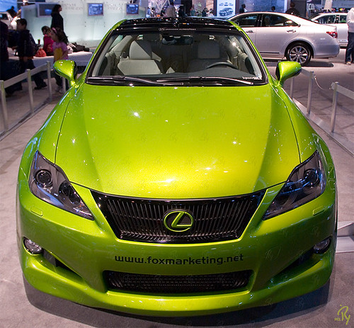 Fox Marketing Lexus IS 350C Design Project